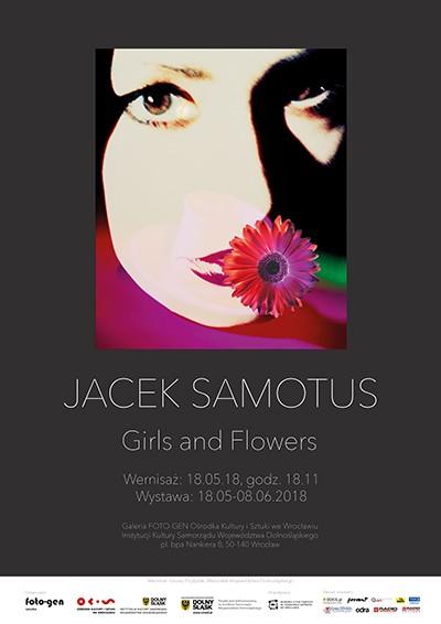 """5e3c73d70 Wystawa Jacka Samotusa """"Girls & Flowers"""" we wrocławskiej Galerii FOTO-GEN - Związek  Polskich Artystów Fotografików"""
